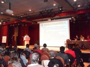Etats Généraux des femmes immigrées et racisées 2012 Aicha Guendafa